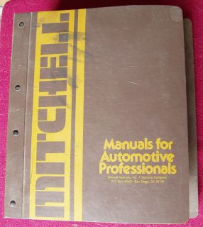 Mitchells Automotive Air Conditioning and Heating Service Manual 1976