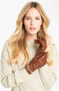 Ted Baker London Chain Detail Leather Gloves