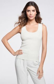 St. John Collection Scoop Neck Shell