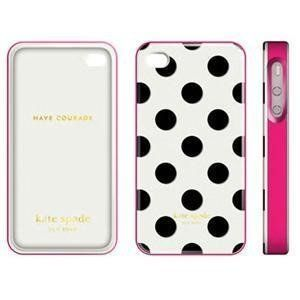 Contour Design Kate Spade Large Dots Case iPhone 4 01686 0 New Free