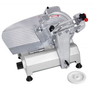 Commercial Electric Slicer Deli Food 240w 530RPM Cheese Meat Home
