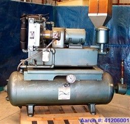 Used Squire Cogswell Rotary Vane Vacuum Pump Carbon S