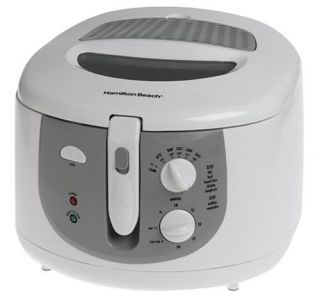 Hamilton Beach Cool Touch Deep Fryer Fry Frying Cooks New