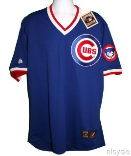 Chicago Cubs MLB Majestic Cooperstown Jersey XL