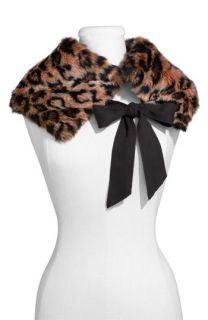 Juicy Couture Cheetah Leopard Print Tippet Scarf Wrap