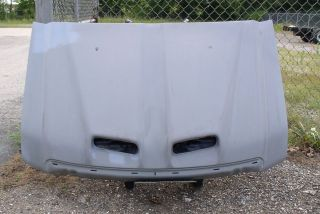 Apm Cowl Induction Style Fiberglass Hood Ford Super Duty Truck
