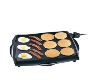 Presto 07046 BigGriddle Cool Touch Electric Griddle —