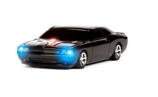 Dodge Challenger Black Wireless Computer Mouse Road Mice NIB