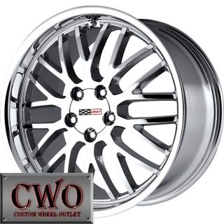 18 Chrome Cray Manta Wheels Rims 5x4 75 5 Lug Chevrolet Chevy