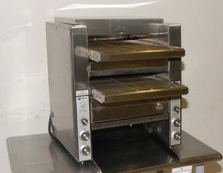 Star Holman Double Conveyor Toaster Model DT14 1 000 Slices per Hour