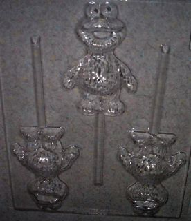 Baby Cookie Monster Sesame Street Character Candy Mold