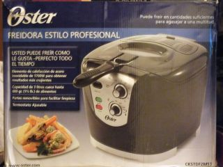 Oster Ckstdfzm53 Cool Touch Deep Fryer ***