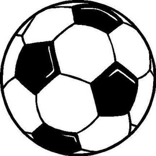 Soccer Ball Vinyl Sticker Decal