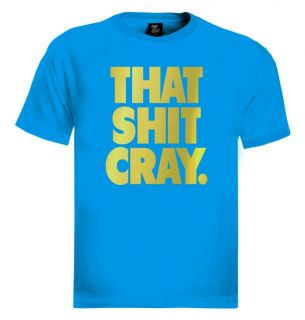 That SH T Cray T Shirt Kanye West Jay Z Funny Crazy Ball T Hip Hop