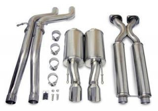 Corsa Exhaust System Cat Back Stainless Steel Jeep Grand Cherokee SRT
