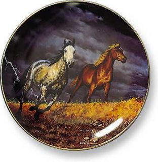 Chris Cumming Thunder Ridge Lightning Horse Plate