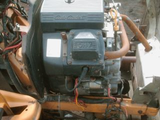 Cub Cadet,Riding Mower Engine,18HP. Heavy Duty Run Very Good.Side
