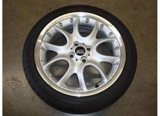 17 Mini Cooper S FACTORY Alloy Wheel RIM OEM 59529 Web Spoke R98