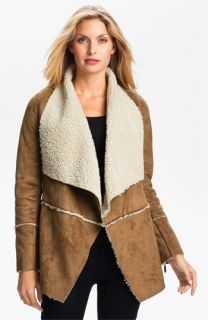 MICHAEL Michael Kors Faux Shearling Coat
