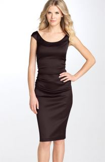 Maggy London Ruched Sheath Dress