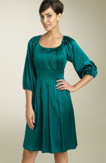 Suzi Chin for Maggy Boutique Silk Charmeuse Dress