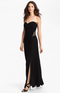 Hailey by Adrianna Papell Embellished Jersey Gown
