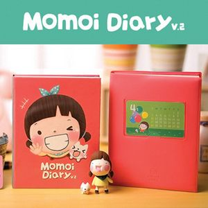 Korean Momoi Diary Cute Girl Journal Planner Notebook Christmas Gift