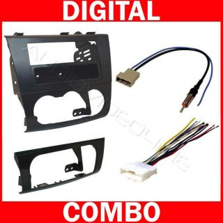 Radio Car Stereo Install Dash Mount Kit Wire Harness Plug 12