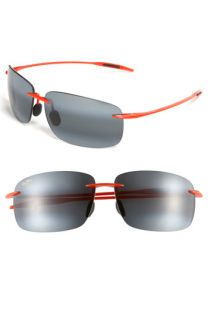 Maui Jim Breakwall   Miami Hurricanes Polarized Sunglasses