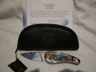 Franklin Mint NASCAR Dale Earnhardt 3 The Legend collector knife NEW w