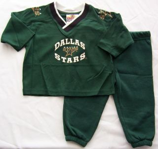 Dallas Stars Toddler Jersey sweat Suit Size 3T