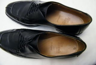 Mens Allen Edmonds Dellwood Split Toe Leather Oxford Dress Shoes Sz 9