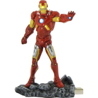 Dane Elec 8GB Marvel USB Drive Iron Man Ironman Statuette Mr Z08GIMA C