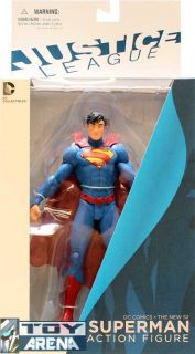 the new 52 justice league superman dc collectibles comic action figure