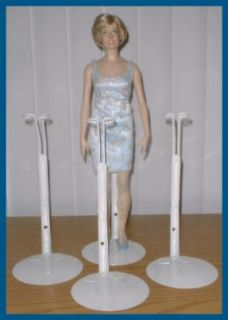 Stands for Franklin Mint Vinyl Dress Up Dolls Princess Diana & Rose
