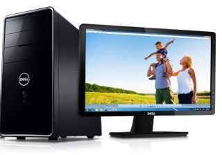 Dell Inspiron 620 Desktop Computer With 20 Inch LCD Dell Monitor