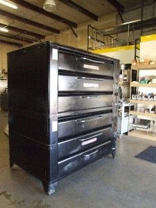 Blodgett Double Stack Deck Oven Pizza Bread 981
