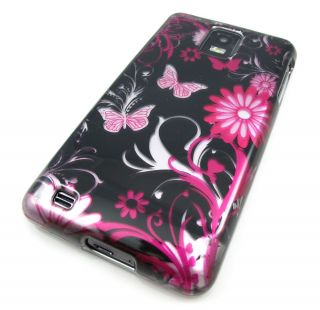 BUTTERFLY HARD CASE COVER SAMSUNG INFUSE 4G i997 ATT PHONE ACCESSORY