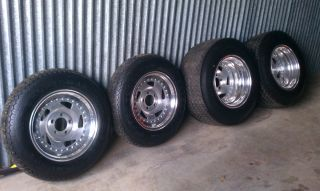 RARE Centerline Directional Aluminum Wheels Kelly Tires American