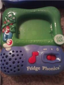 Lot LeapFrog Fridge Phonics 58 Letters and Word Whammer Leap Frog