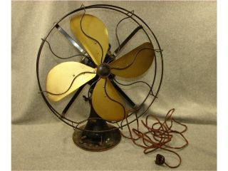 Emerson Fan 73648 Brass Blades 3 Speed Electric Oscillating