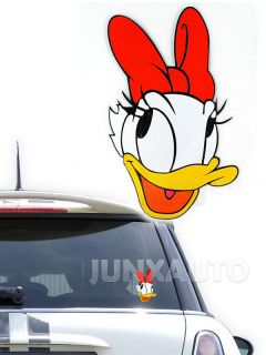 Reflective Warning Sign Window Vinyl Decal Disney Mickey Donal