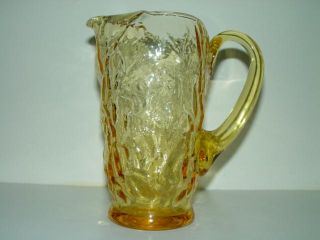 Seneca Driftwood Buttercup Yellow 30 oz Pitcher Mint