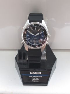 Mens Casio Diver Marine Gear Watch 100 Meter Water Resistance