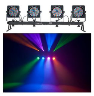LED RGB DMX Mountable Sound Activated DJ Light Effect System