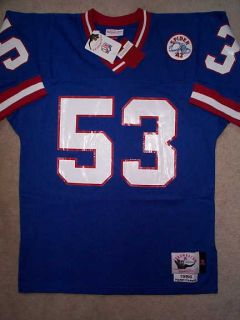 250 Mitchell Ness M N New York Giants Harry Carson NFL Throwback