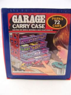 wheels racing champions matchbox ertl diecast cars garage carry case