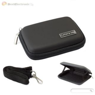 New Portable Digital Camera Case Bag Pouch Hard Leather