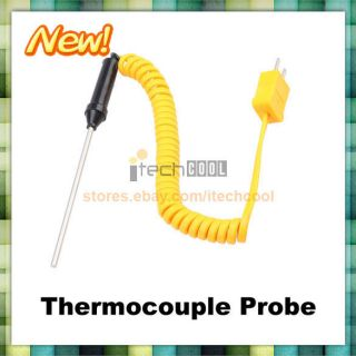 NP K Type Thermocouple Probe Digital Thermometer 300 C