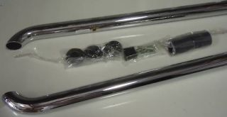 Dodge RAM Tube Bed Side Rails Chrome Short Box 08 Mopar Factory